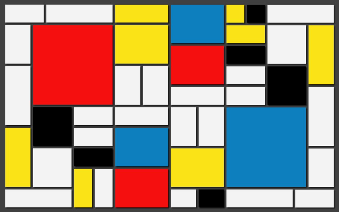 Tela di Mondrian