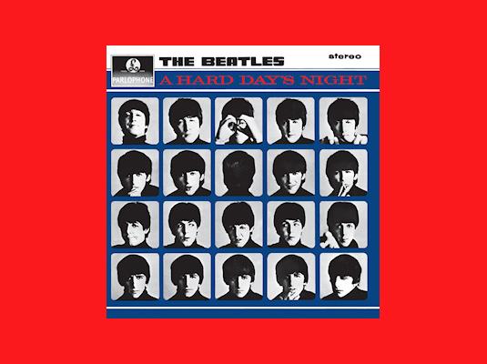 Copertina LP Beatles