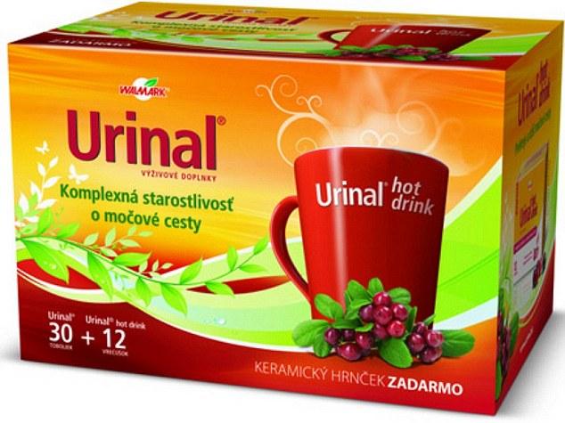 Brand naming urinal