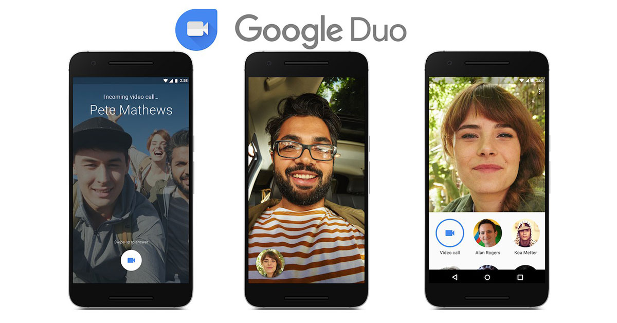 L'app integrata Google Duo