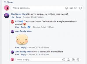 Identità del consumatore Lego