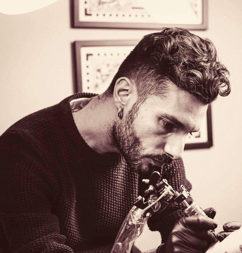 Matteo Paglione, tattoo artist