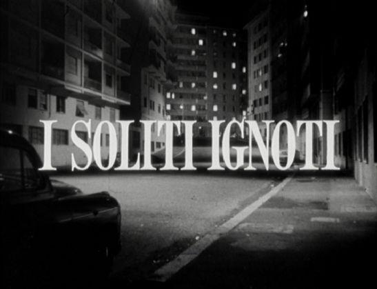 I soliti ignoti