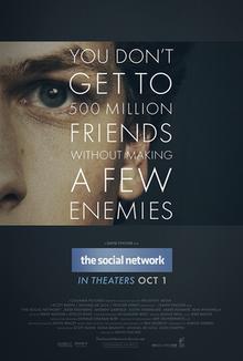 Copertina del film The Social Network