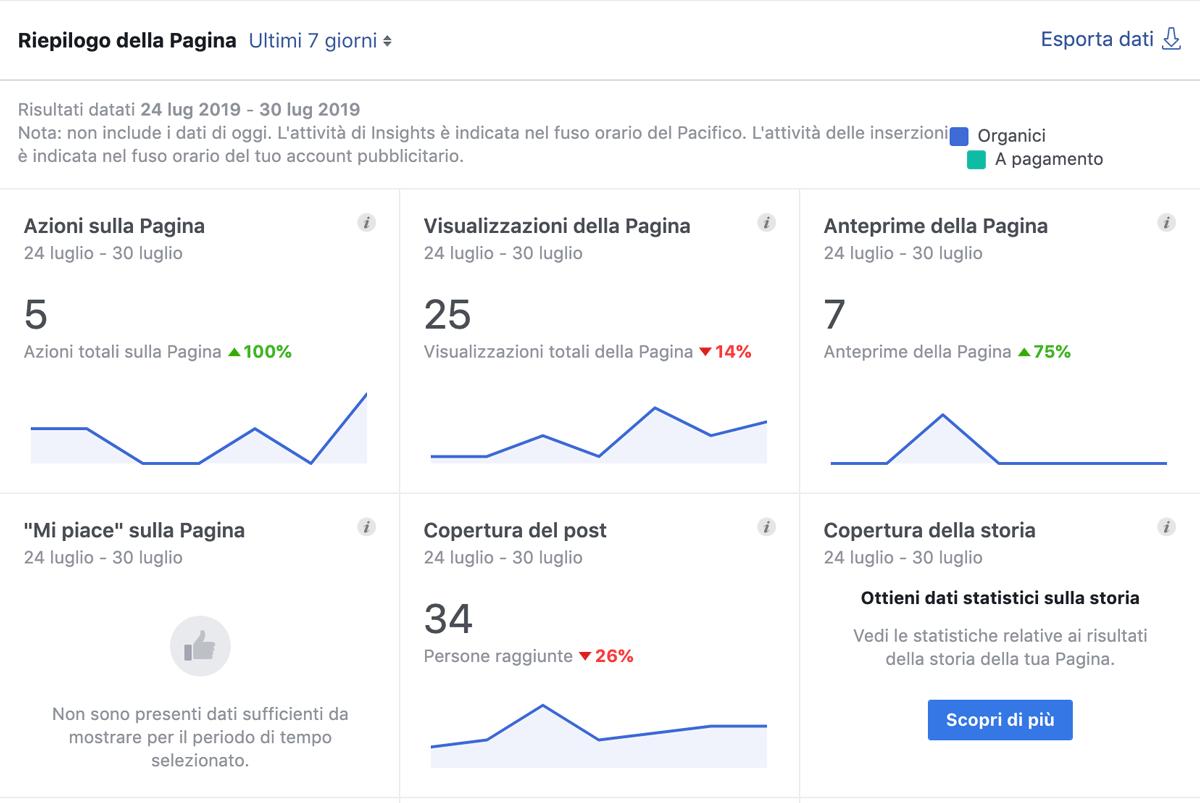 panoramica generale - Definire il target social, per capire cosa pubblicare su Facebook e Instagram