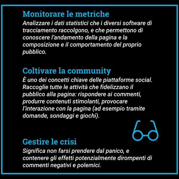 Organizzare la pubblicazione dei post sui social è utile per monitorare, creare la community e gestire le crisi
