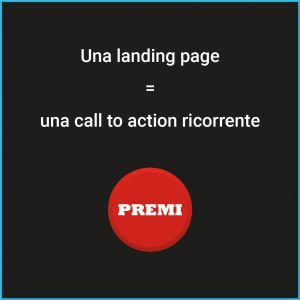 Call to Action in una landing page